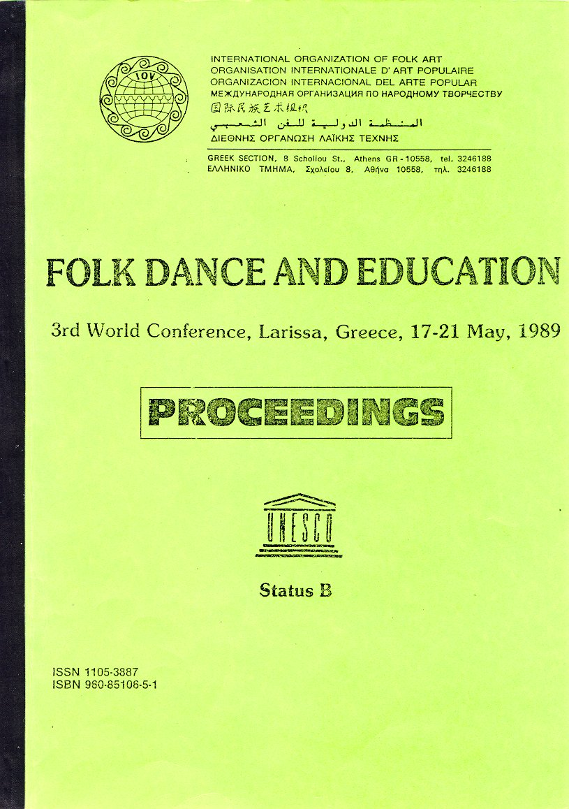 Folk dance in education - edited